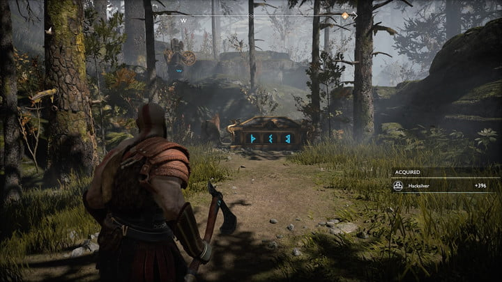 god of war nornir chests collectibles guide 8 foothills