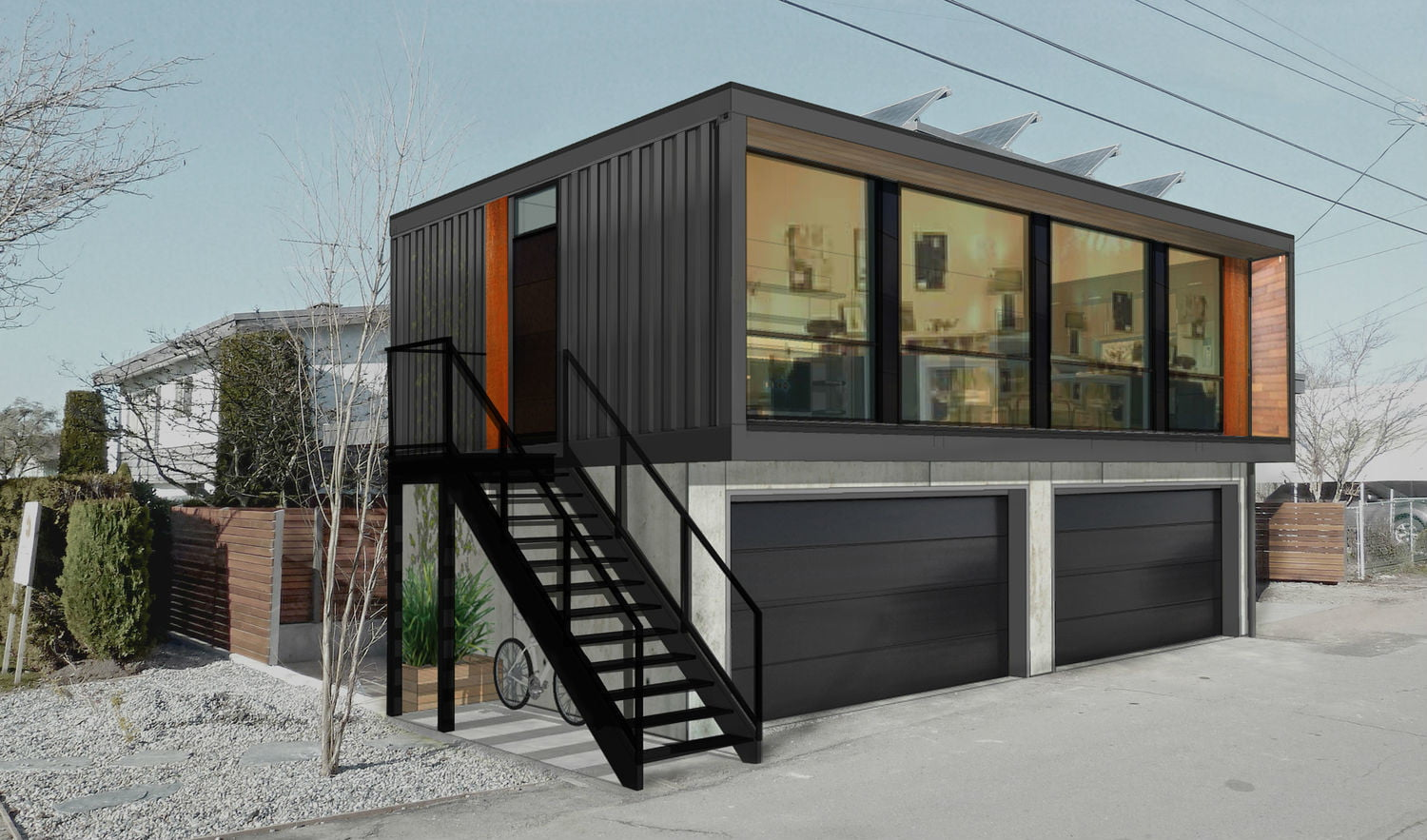 Best Kitchen Gallery: Honomobo Shipping Container Homes Are Stackable And Luxurious of Container Home Pricing on rachelxblog.com