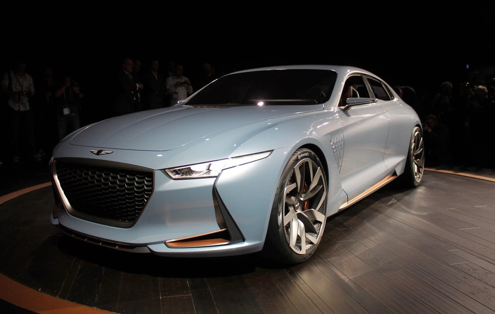Genesis Motors Reveals New York Concept Pictures