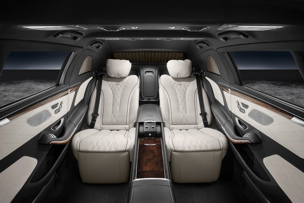 armored mercedes maybach s news pictures specs pullman guard