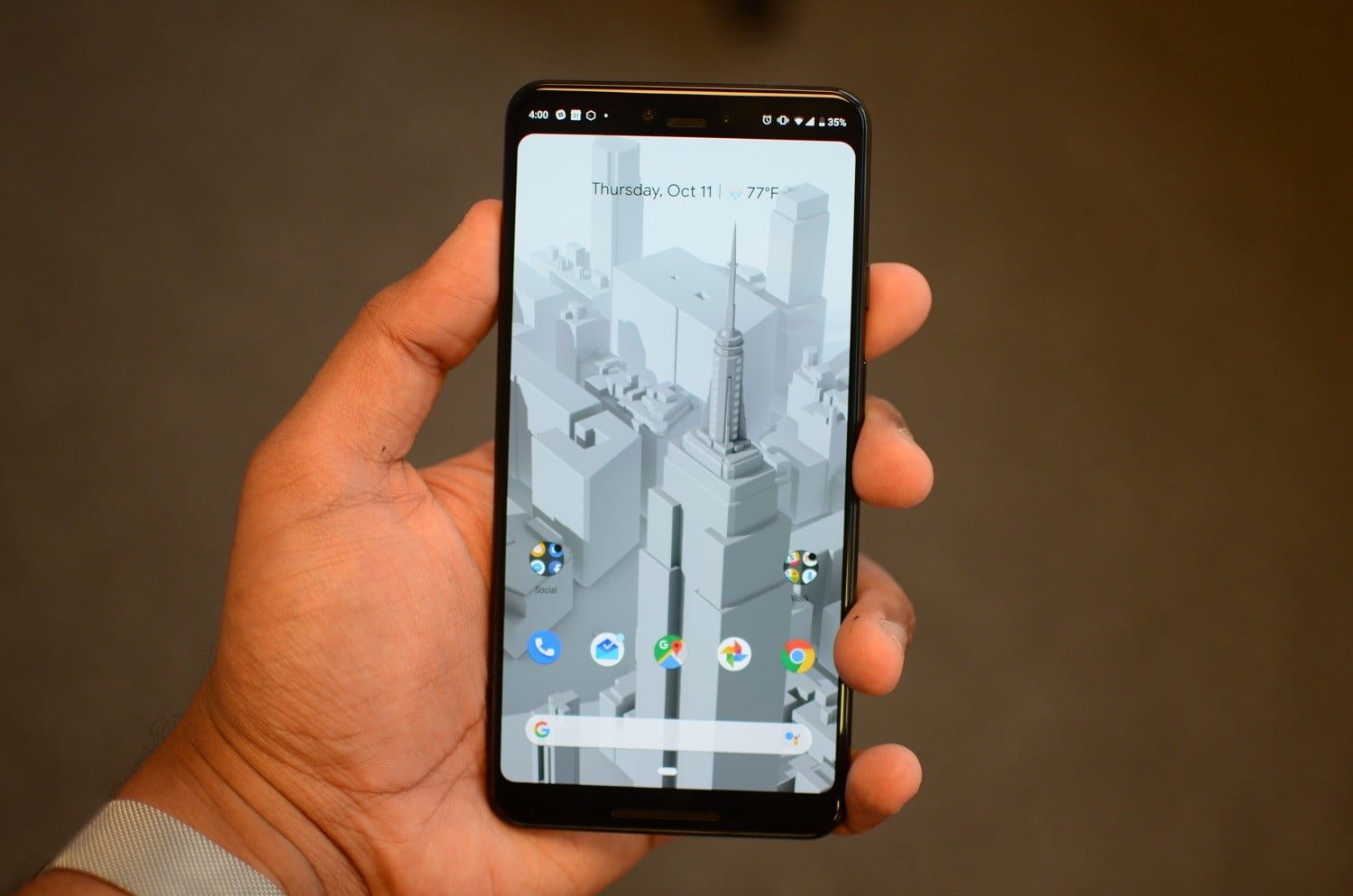 How To Hide The Notch On The Pixel 3 Xl