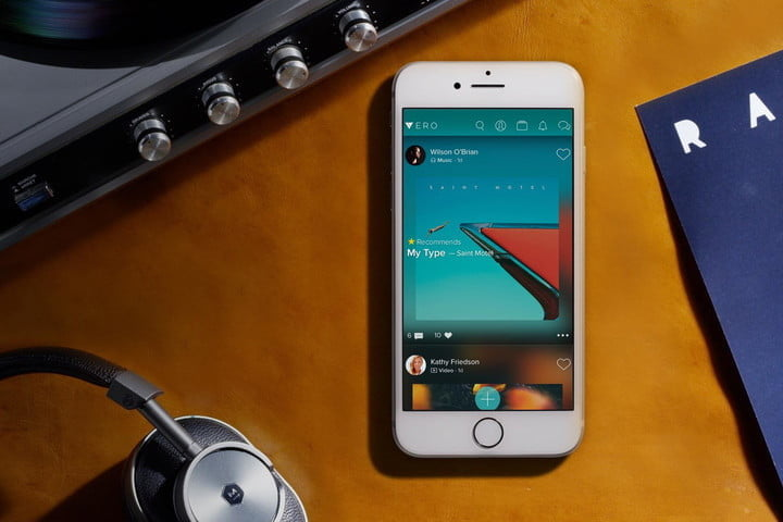 vero app headphones