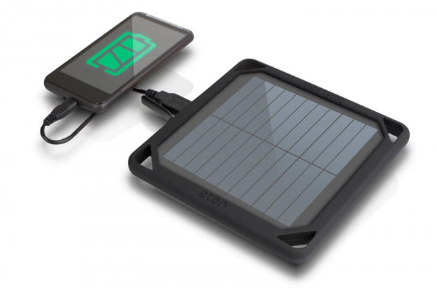 boost-solar with smartphone top