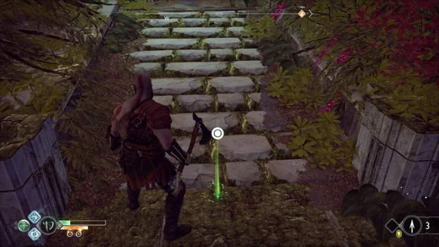 god of war combat guide heal on the go