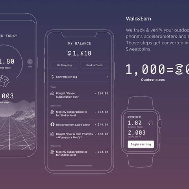 Sweatcoin Graphic
