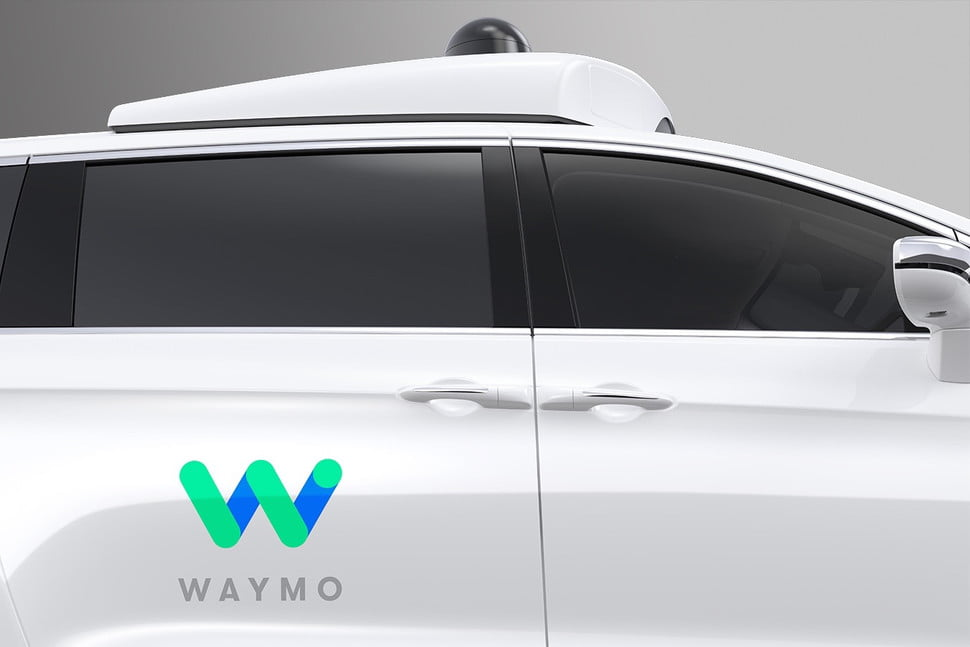 waymo chrysler pacifica hybrid self driving