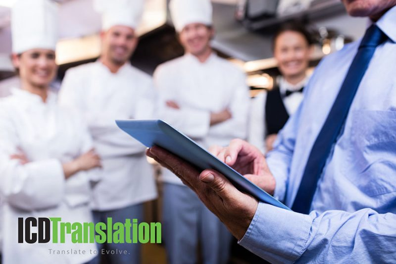 Benefits of Translation and Localization for the Food Service, Equipment and Supply Industry