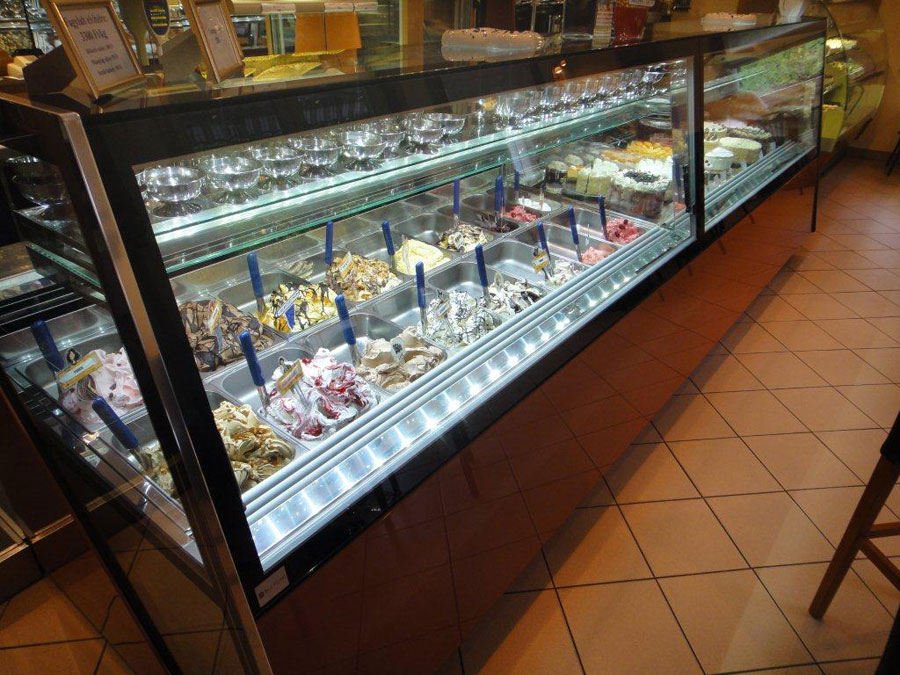 Products Ice Cream Showcases Display Cart Features And