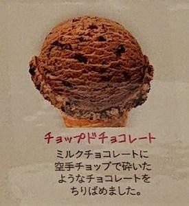 サーティワン  チョップドチョコレート