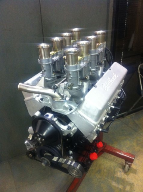 I.C.E.-built FIA 302 Small Block Chevrolet