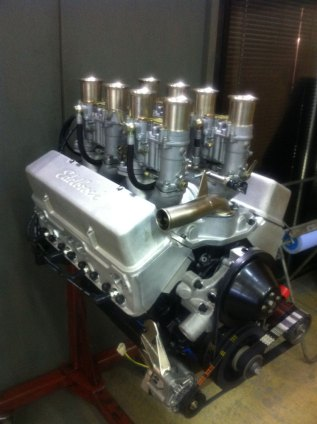 I.C.E.-built FIA 302 Small block Chevrolet