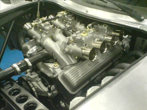 I.C.E.-built FIA 327 Small block Chevrolet
