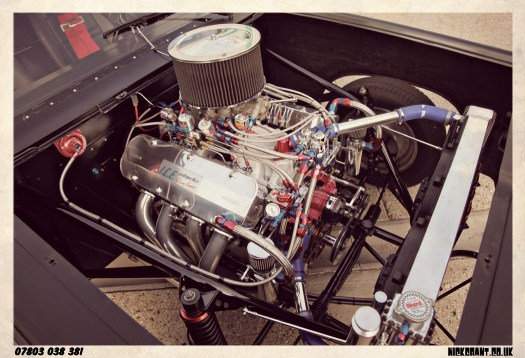 I.C.E.-built 461ci Big block Chevrolet