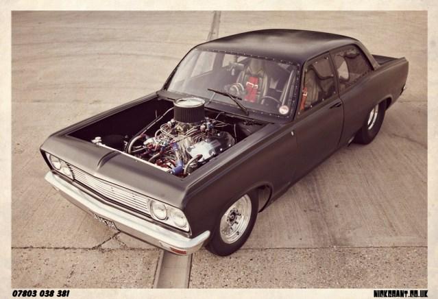 I.C.E.-built 461ci Big block Chevrolet