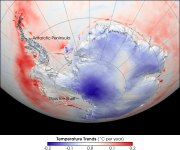 Temperature dell'Antartico