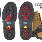 Winter Walking Icegrips Rotors in action.