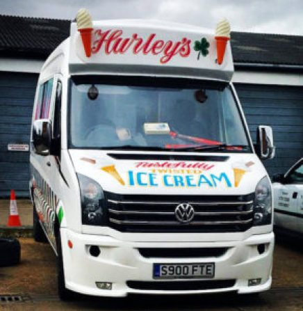 Ice Cream Van Hire Clacton-on-Sea Essex