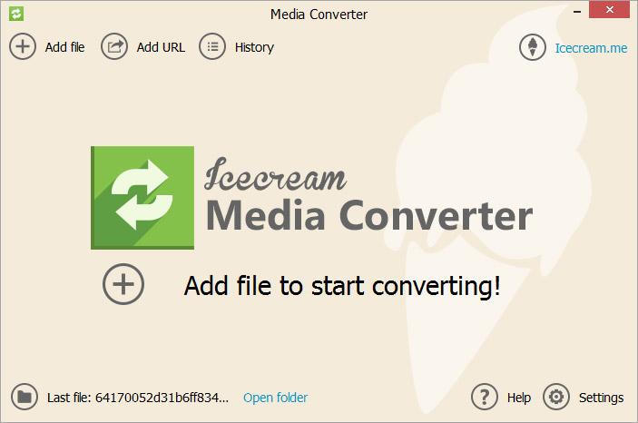 icecream-media-converter-medya-dönüstürme