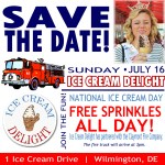 National Ice Cream Day 2017 at Ice Cream Delight of Delaware