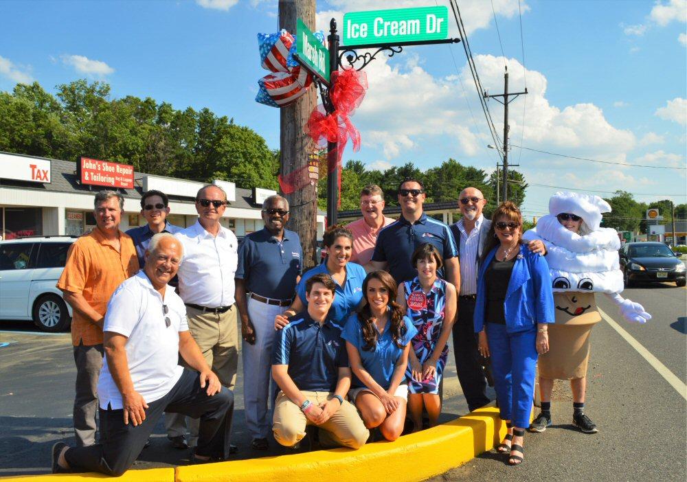 Barclay Road Renamed Ice Cream Drive Wilmington DE