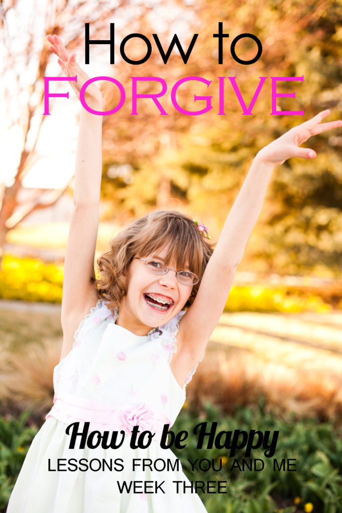 How to Forgive--How to Be Happy--Week Three. If you want to be happy, you absolutely must learn to forgive. But what if you don't know how, or don't think you can? This article lists practical steps to take to help you begin your journey to healing and happiness through forgiveness.