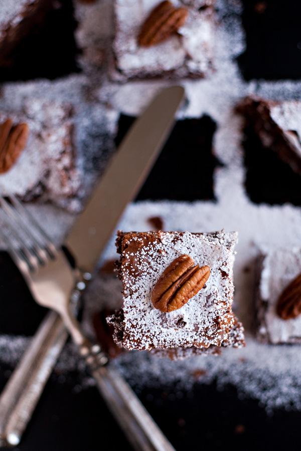 Decadent Chocolate Brownies. So rich and fudgy! They'll be your go-to brownie recipe from now on!
