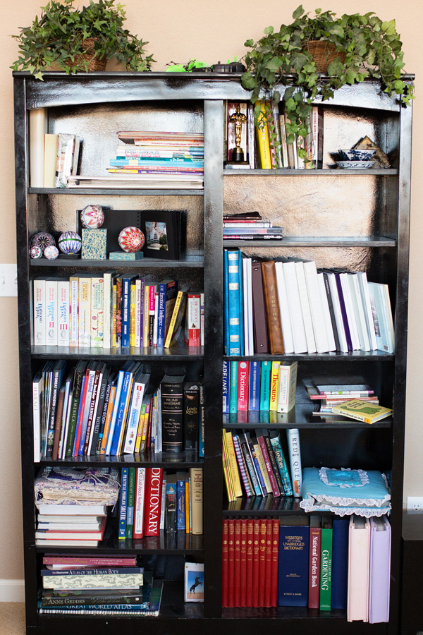 "Are your bookshelves stocked with books you have never read or that you are saving for ""someday?"" Now is the time to de-clutter your book collection using the KonMari method. Imagine being surrounded by only books that you love!"