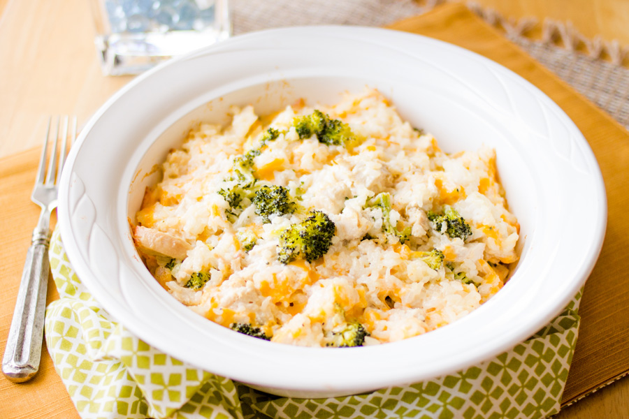 Classic Chicken Broccoli Casserole with a lemony twist! This will become a family favorite for sure! Try it tonight!