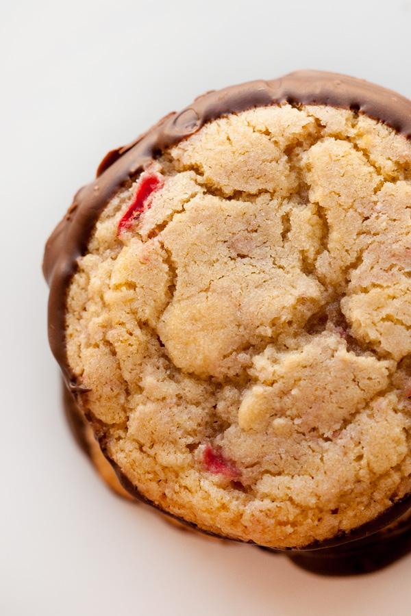 Chocolate Strawberry Cookies.