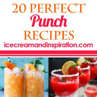 If you're looking for the best non-alcoholic punch recipes, this list of 20 Perfect Punch Recipes has you covered!