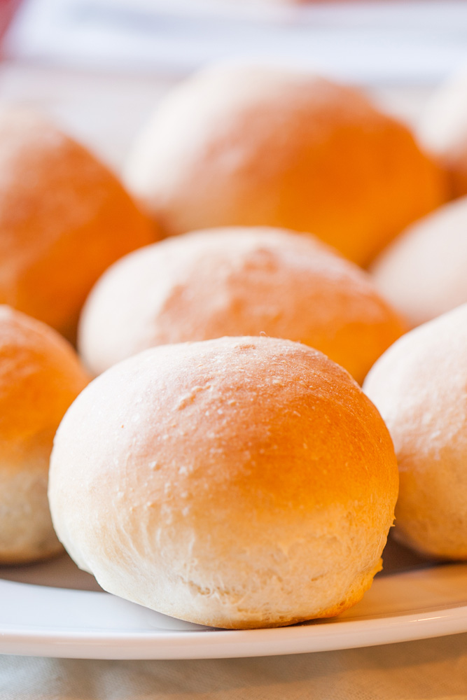 Home made French Bread Rolls cannot be beat! So soft and fluffy, and made with only six ingredients!
