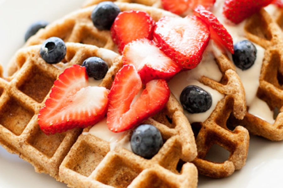 Whole Wheat Waffles.