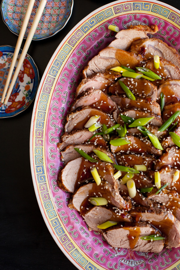 Chinese Pork Loin with Honey Garlic Sauce. Just like eating at your favorite Chinese restaurant!