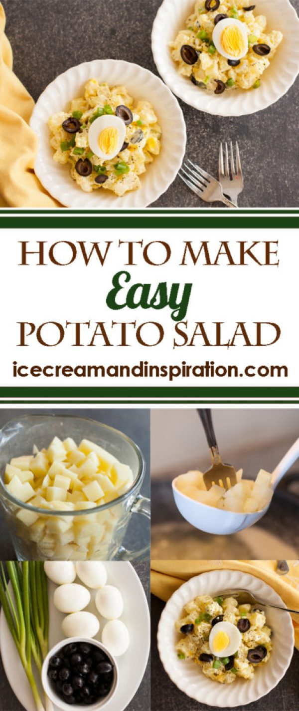 Learn how to make classic, easy potato salad with simple ingredients. Lots of essential tips to make the best potato salad ever!