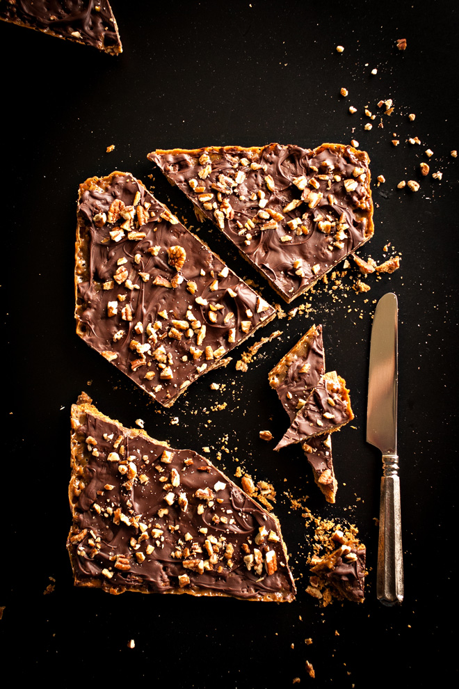 Turtle Graham Bars, Graham Cracker Toffee Bark, or Graham Cracker Toffee Brittle, Graham Cracker Toffee Crack