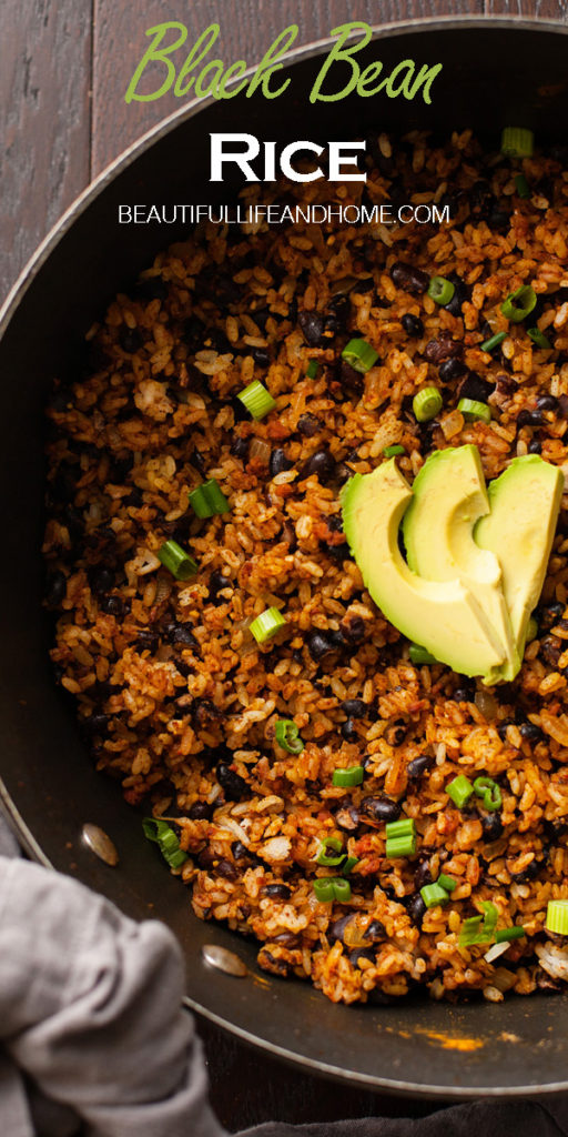 This black beans and rice recipe is going to knock your socks off! Adding chorizo brings the flavors to the next level, with its layers of smokiness and spiciness. This is the best black beans and rice you will ever have!