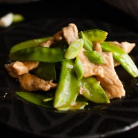 Chinese Pork Stir Fry with Snow Peas