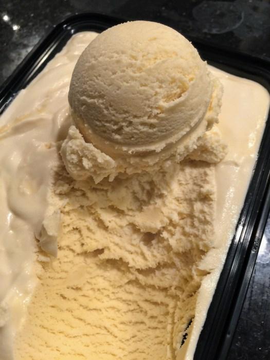 Bailey's Irish Cream ice cream scoop