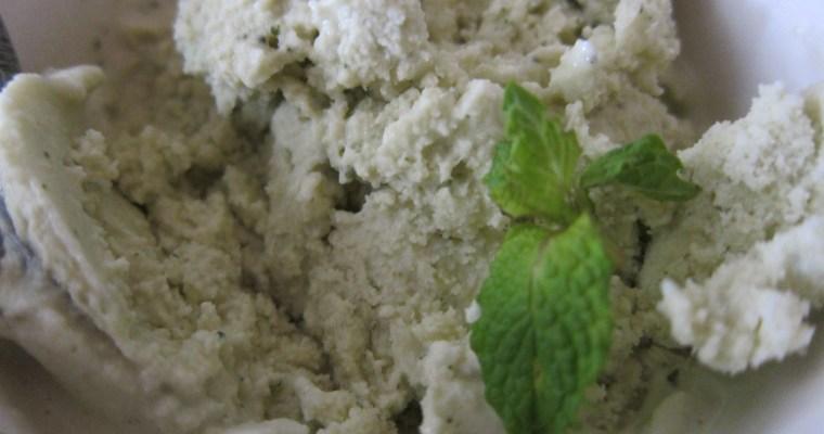 Cucumber Mint Ice Cream