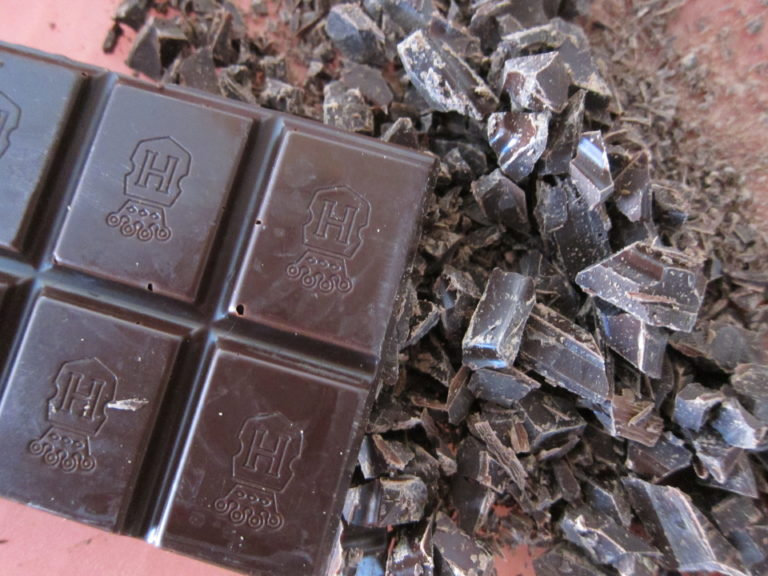 Fancy chopped chocolate