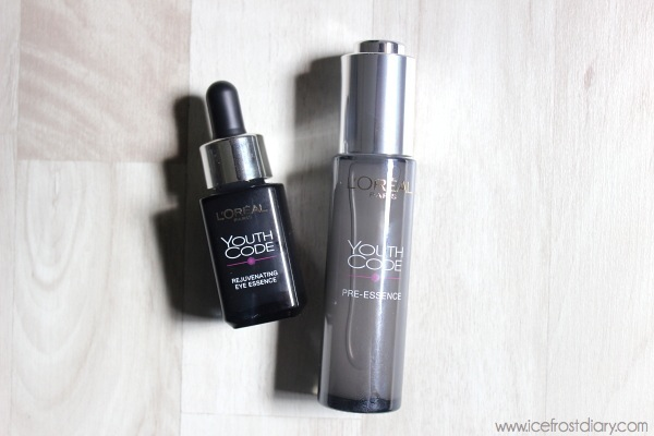 Review: L'Oreal Youth Code Pre-Essence + Eye Essence