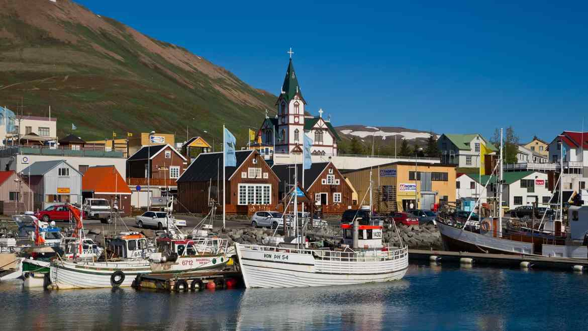 Húsavík Town : North Iceland : Travel Guide : Nordic Visitor