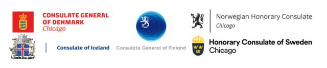 Logos of all five consulates
