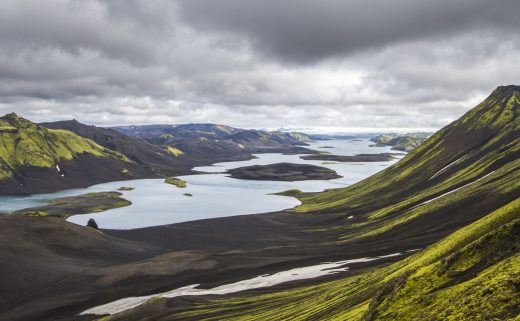 Région de Landmannalaugar