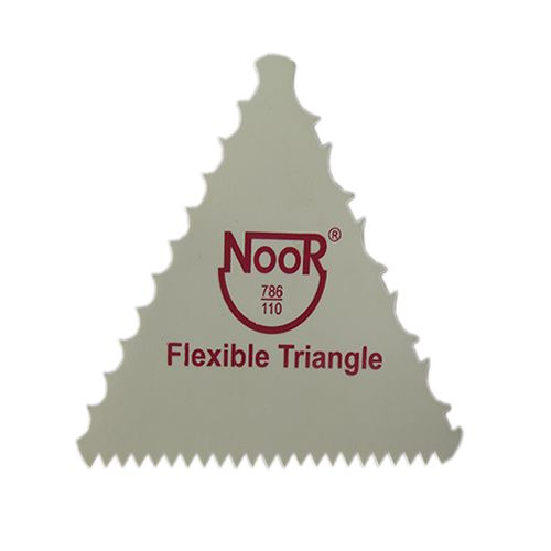 PLASTIC FLEXIBLE TRIANGLE SCRAPER