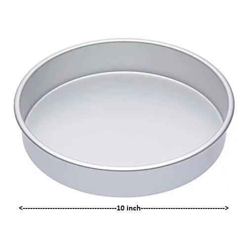 CAKE PLATE(TIN) ROUND 10″