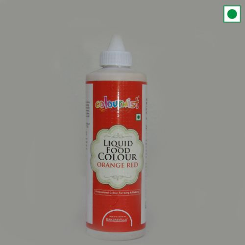 COLOURMIST LIQUID FOOD COLOUR 200GM ORANGE RED