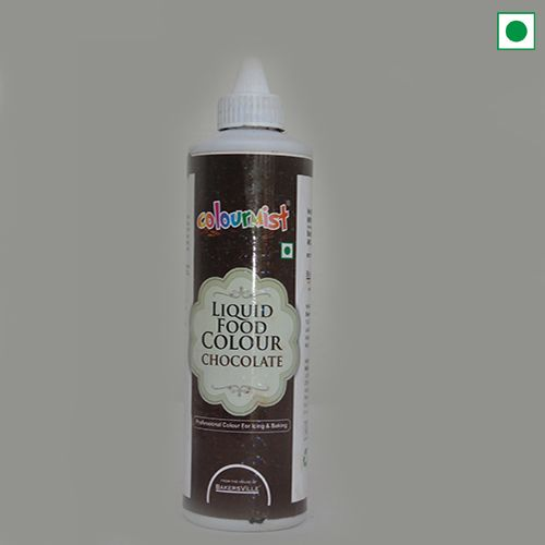 COLOURMIST LIQUID FOOD COLOUR 200GM CHOCOLATE
