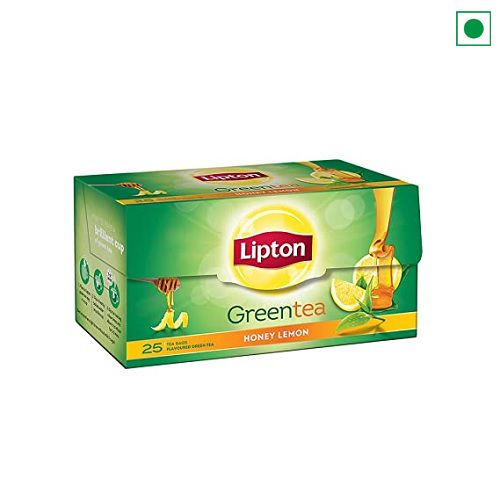 LIPTON GREEN TEA HONEY LEMON 25 TEA BAGS