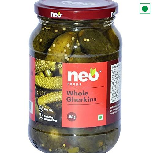 NEO WHOLE GHERKINS 670GM